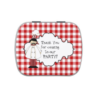 Pizza Party Peppermint Party favors candy tin