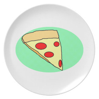 pizza party plate