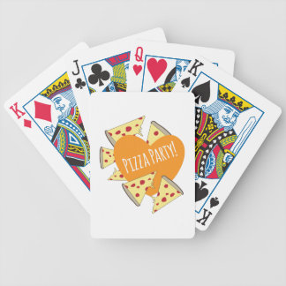 Pizza Party Poker Cards