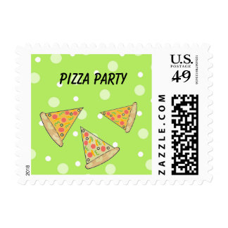 Pizza Party Postage