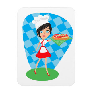 Pizza Party Premium Flexi Magnet