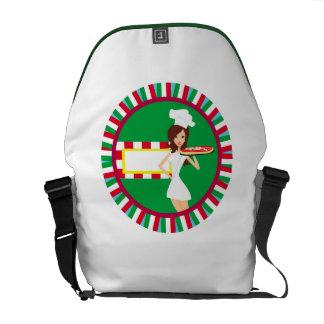 Pizza Party Rickshaw Messenger Bag
