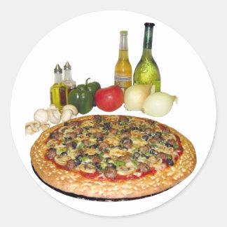 Pizza Party Sticker