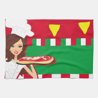 Pizza Party TeaTowels Hand Towel