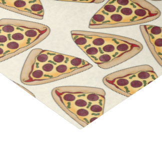 Pizza Party themed tissue paper