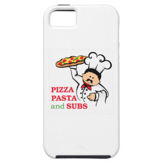 PIZZA PASTA AND SUBS iPhone 5 COVER