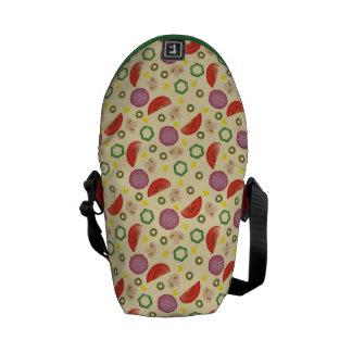 Pizza Pattern 2 Messenger Bags