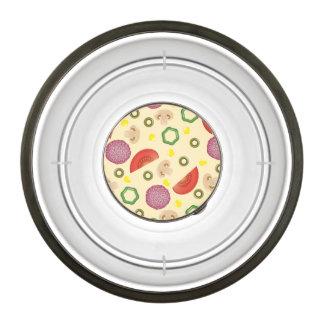 Pizza Pattern 2 Pet Bowl