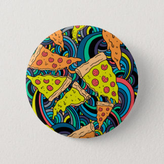 Pizza pattern button