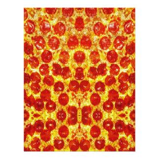 Pizza Pattern Letterhead