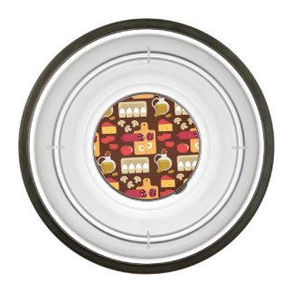 Pizza Pattern Pet Bowl