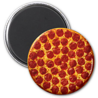Pizza Pepperoni Magnet