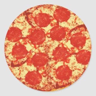 Pizza Pepperoni Stickers
