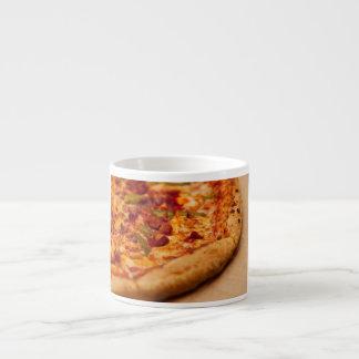 Pizza photo espresso cup