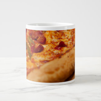 Pizza photo large coffee mug