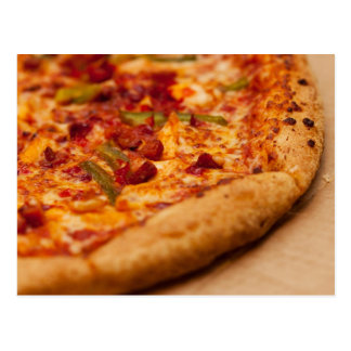 Pizza photo postcard