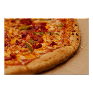 Pizza photo poster