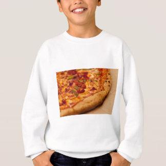 Pizza photo sweatshirt