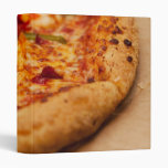 Pizza photo vinyl binders