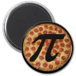 Pizza PI 2 Inch Round Magnet
