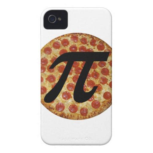 Pizza pi iPhone 4 Case-Mate fundas