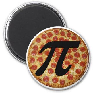 Pizza PI 2 Inch Round Magnet