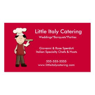Pizza Pie Chef Italian Business Card Template