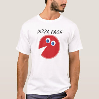 PIZZA PIE FACE FROM QUIRKEEZE & JIM MALTESE T-Shirt