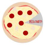 Pizza Pie Pizza Party Invitation Personalized Announcement