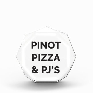 Pizza, Pinot and PJ's Funny Wine Print Award