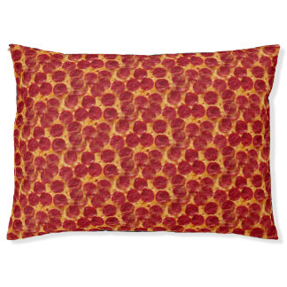pizza pizza animal pet cat puppy dog bed