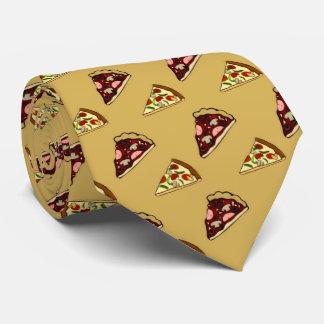 pizza, pizza, corbata