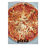 pizza, pizza greeting cards