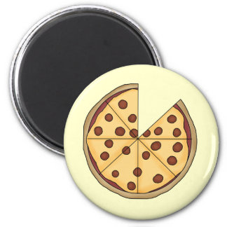 Pizza Pizza Pizza 2 Inch Round Magnet