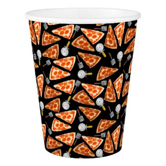 Pizza Pizzaz Paper Cup