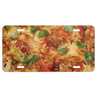 Pizza Placa De Matrícula