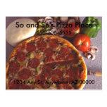 Pizza Place Postcard