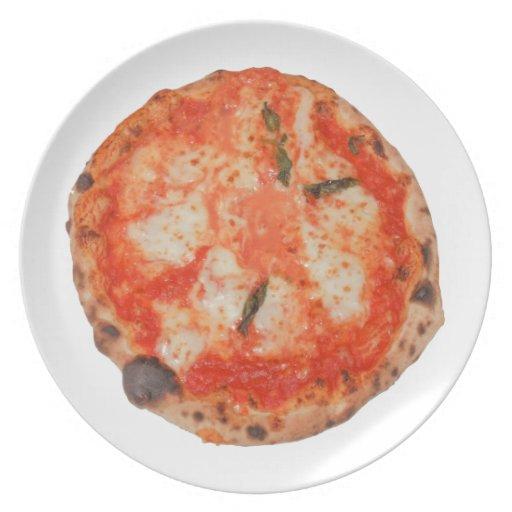 Pizza Plato De Cena