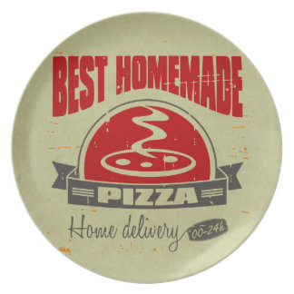 Pizza Plato Para Fiesta