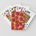 "Pizza Playing Cards<br><div class=""desc"">Playing cards with a tasty-looking pizza pattern on the back. Perfect for both pizza parties and game nights.</div>"
