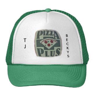PIZZA-PLUS, TJ, BECKYS TRUCKER HAT