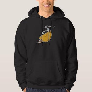 pizza pocket calzone hoodie