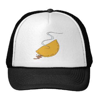 pizza pocket calzone trucker hat