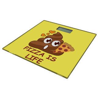 Pizza Poop Life Bathroom Scale