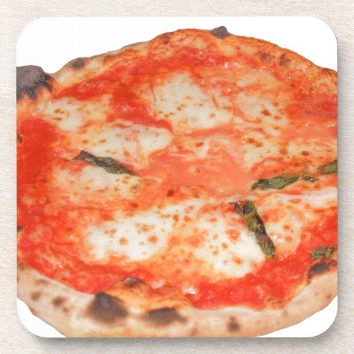 Pizza Posavasos De Bebida