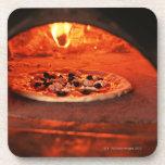 Pizza Posavasos De Bebidas