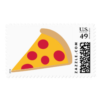 Pizza Postage Stamps