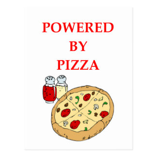 PIZZA POSTCARD