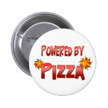 Pizza Power Pinback Buttons