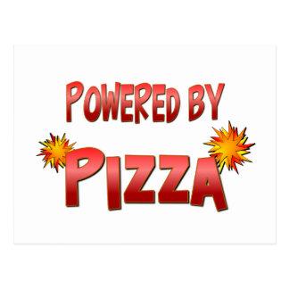 Pizza Power Postcard